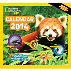 2014 National Geographic Kids Almanac Wall Calendar