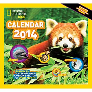 View 2014 National Geographic Kids Almanac Wall Calendar image
