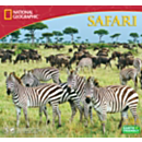 2014 National Geographic Safari Wall Calendar