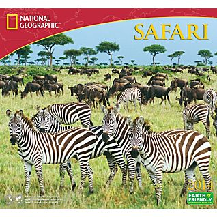 View 2014 National Geographic Safari Wall Calendar image