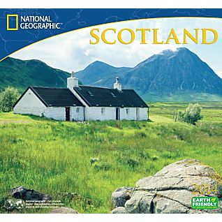 View 2014 National Geographic Scotland Wall Calendar image