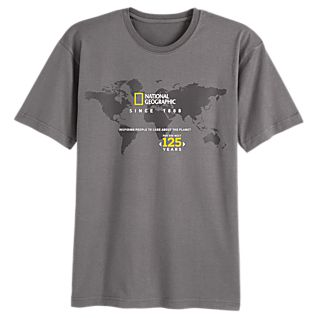 View National Geographic 125th Anniversary T-Shirt image