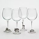 Pewter Safari Glasses - Set of 4