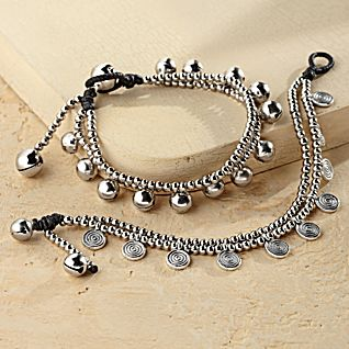 View Spiral and Bell Bracelets image