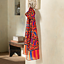 Indian Sunset Silk Scarf