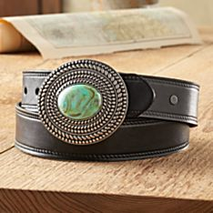 Hamilton Pool Leather Belt