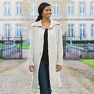 View Aran Sweater Coat image