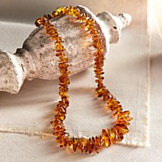 Handcrafted Jurate's Tears Amber Necklace