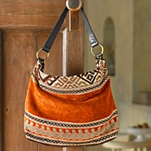 Moroccan Tapestry Bag, Crafted in Morocco