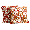 Mughal Jewel Reversible Throw Pillow