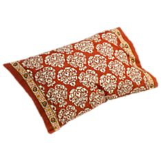100% Cotton Mughal Jewel Block-Printed Pillowcase - Set of 2