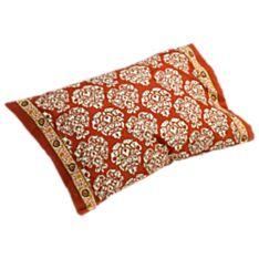 Mughal Jewel Block-printed Pillowcase - Set of 2