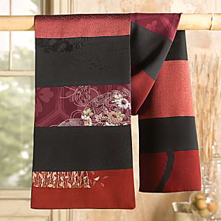 View Vintage Kimono Silk Scarf image