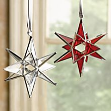 Handcrafted Moravian Star Ornament