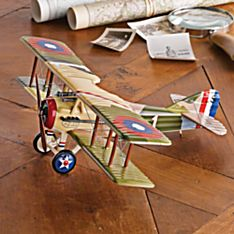 Handcrafted Spad S.Xlll Model Plane