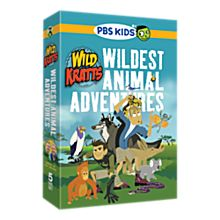 Wild Kratts DVD Set, Ages 8 and Up