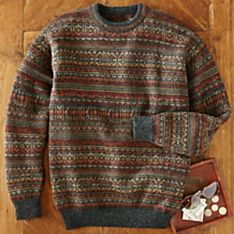 Men's Panqara Alpaca Sweater