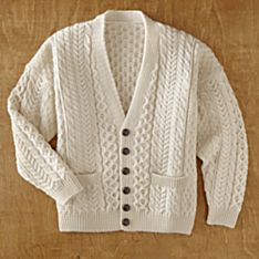 Mens Classic Cardigan Sweater