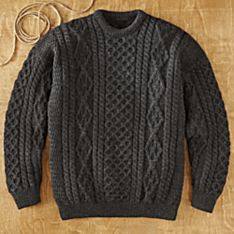 Knitting an Irish Sweater
