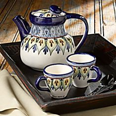 Handcrafted Lake Atitlan Tea Set