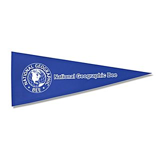 View National Geographic Bee Pennant image