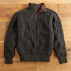 Mens Wool Knit Sweaters