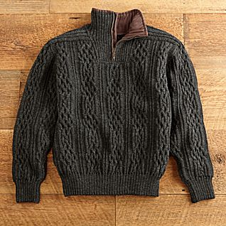 Norwegian Mountaineer Wool Pullover Sweater
