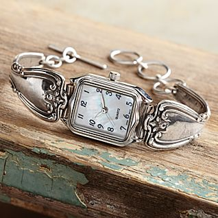 Silver Spoon Watch