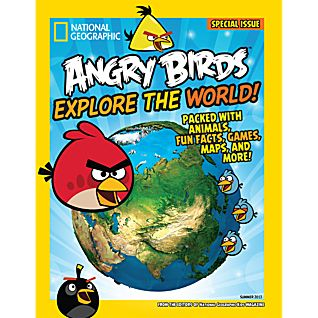 View National Geographic Angry Birds Explore the World Special Issue image