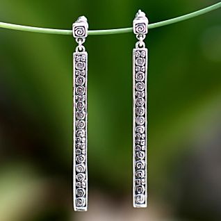 View Sterling Silver Serenity Earrings image