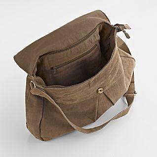 Boho-Hobo Suede Bag