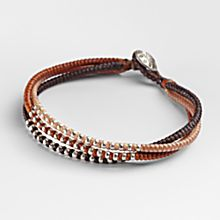 Thai Autumn Braided Bracelet