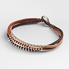 Handcrafted Thai Autumn Braided Bracelet