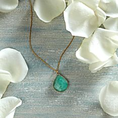 Handcrafted Jaipur Amazonite Necklace