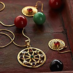 Handcrafted Jaipur Sunshine Earrings