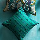 Indian Jazz Pillow - Square