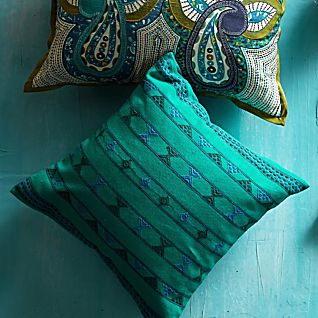 Indian Jazz Pillow - Square