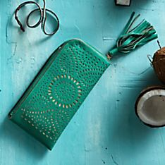 Handcrafted Javanese Sunrise Clutch