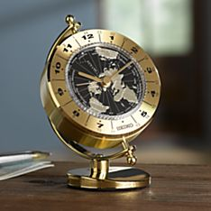 Seiko Globe World Time Clock