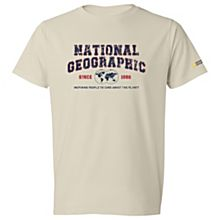 National Geographic Vintage Logo T-Shirt