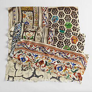 Taj Mahal Mosaic Scarf