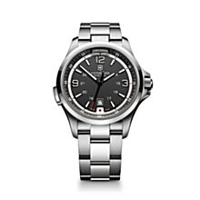 Victorinox Stainless-Steel Night Vision Watch, Made in Switzerland