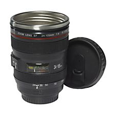 Camera Lens Travel Mug