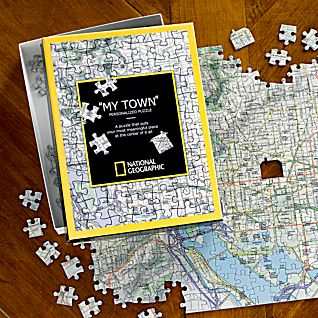 View National Geographic ''My Town'' Custom Map Puzzle image