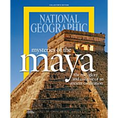 National Geographic Mysteries of the Maya Special Issue