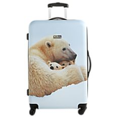 28-Inch Polar Bear Hard-Side Luggage