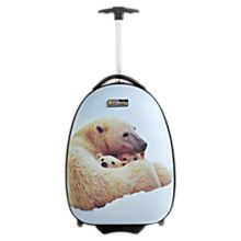 Kids' Polar Bear Hard-side Luggage