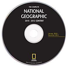 Complete National Geographic - 2010-2012 Annual Update DVD-ROM