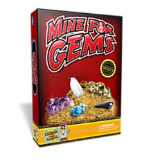 Mine for Gems Mineral Science Kit, Ages 6 and Up