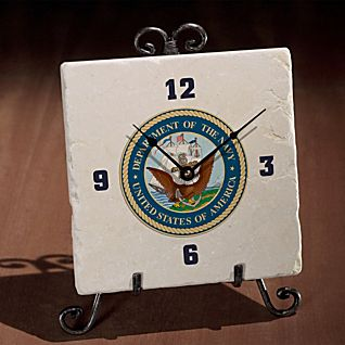 View Military Seal Clock image